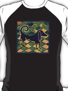 DOG KITCHEN CERAMIC TILES FLOOR T-Shirt