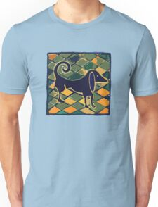 DOG KITCHEN CERAMIC TILES FLOOR Unisex T-Shirt