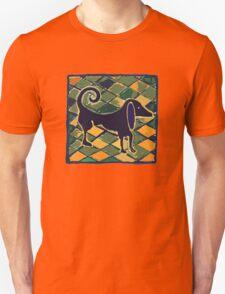 DOG KITCHEN CERAMIC TILES FLOOR Unisex T-Shirt