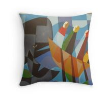 TASMANIAN WHALERS 1830 Throw Pillow