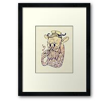 Hello Sailor!! Framed Print