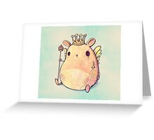 Prince Angel of Bunnyland Greeting Card