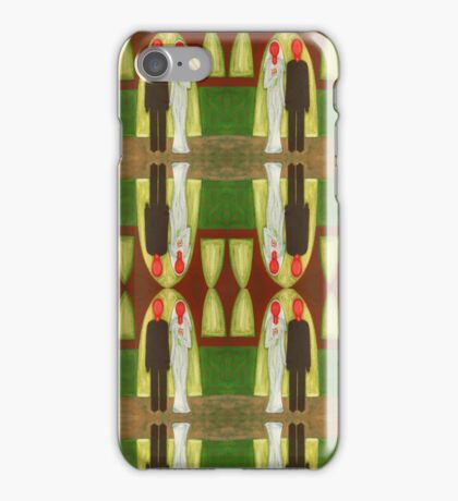 THE BLUSHING BRIDE AND GROOM 3 iPhone Case/Skin