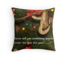 something special for you under the tree Throw Pillow