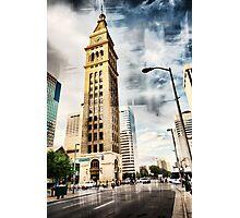 Clocktower - Denver Photographic Print