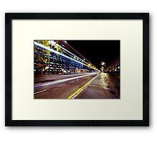 St Vincent Street Framed Print