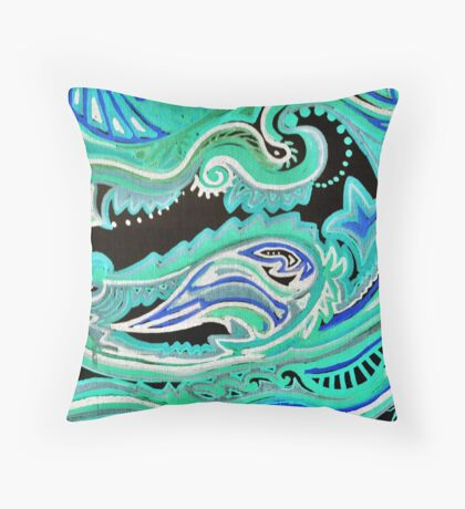 Clean Spot Throw Pillow