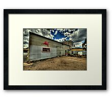 Old Style Service - Clunes, Victoria - The HDR Experience Framed Print