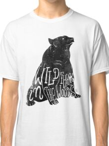 Wild Thing in the Woods Classic T-Shirt