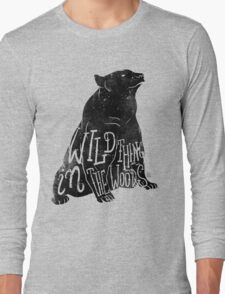Wild Thing in the Woods Long Sleeve T-Shirt
