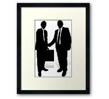 Handshake Framed Print
