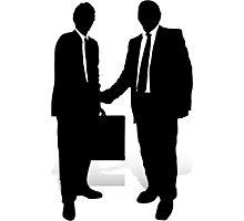 Handshake Photographic Print