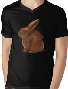 chocolate bunny Mens V-Neck T-Shirt