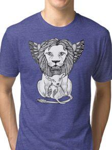 Lion and Lamb Tee Tri-blend T-Shirt