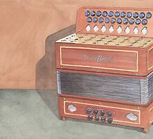 Button Accordion Three by Ken Powers