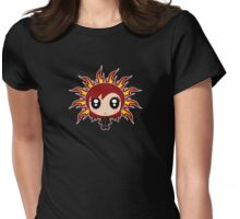Flaming Ebony Womens Fitted T-Shirt