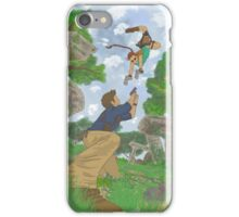 cross over Tomb Raider x Uncharted iPhone Case/Skin