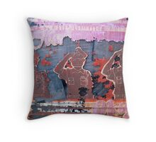 Salute Throw Pillow