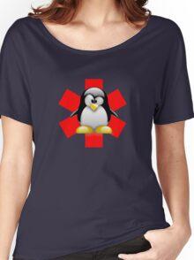 LINUX TUX PENGUIN HOSPITAL Women's Relaxed Fit T-Shirt