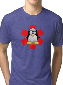 LINUX TUX PENGUIN HOSPITAL Tri-blend T-Shirt