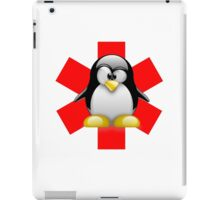 LINUX TUX PENGUIN HOSPITAL iPad Case/Skin