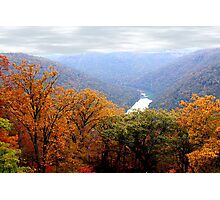 Autumn in West Virginia USA Photographic Print