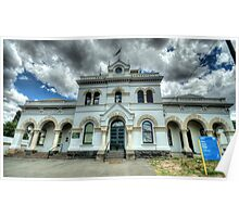 Municipal Memories - Clunes,Victoria - The HDR Experience Poster