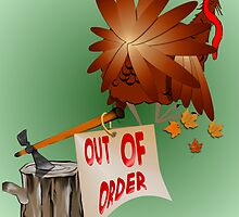 Out Of Order Thanksgiving by Lotacats