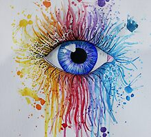 Rainbow Eye by Maddy Storm