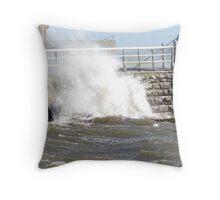 The Crashing Wave Throw Pillow