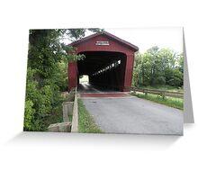 Parker Covered Bridge Greeting Card
