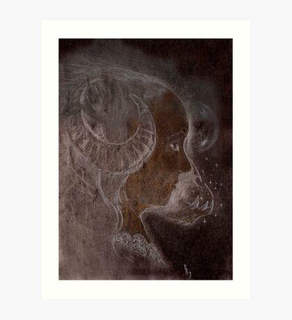 A Queen of Ghouls Art Print