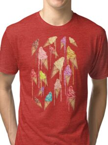 Melted ice creams Tri-blend T-Shirt