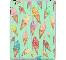 Melted ice creams iPad Case/Skin