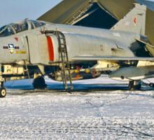 Phantom FGR.2 XV402/A RAF Stanley  Sticker