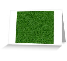 Green Grass Greeting Card