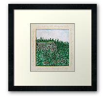 Echo Ridge Framed Print