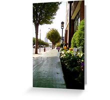 I love the view Greeting Card