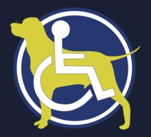 SERVICE DOG WHEELCHAIR by SofiaYoushi