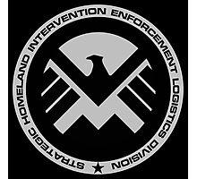 Marvel - S.H.I.E.L.D Logo Photographic Print