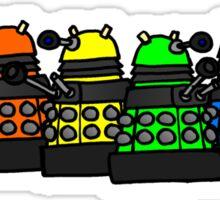 Dalek and Proud Sticker