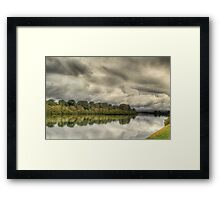 The Mighty Manning Framed Print
