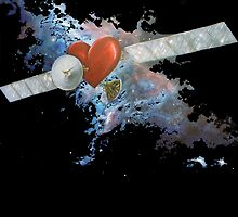 Satellite Heart V3 by Melanie Pople