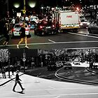Like Night and Day - Crossing - 2009 Portfolio Project by Roger Barnes