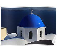 Oia Santorini, Greece Poster