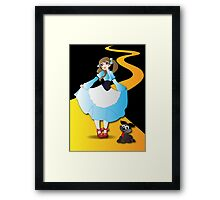 Twisted - Wizard of Oz Framed Print