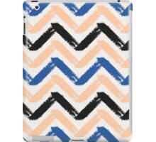 Blue, Pink & Black Chevron iPad Case/Skin