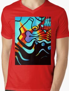 BUSINESS AS USUAL 1.0 Mens V-Neck T-Shirt