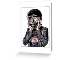 Motorcycle Maven Greeting Card