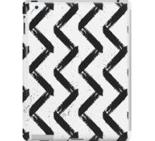 Black & White Chevron iPad Case/Skin